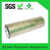 Cinta de BOPP muestra libre Fabricación de la cinta adhesiva de la cinta de embalaje de BOPP
