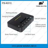 nécessaire solaire d'ampoules de 3PCS 1W avec la fonction de chargeur de téléphone (PS-K013)