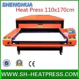 Grande máquina hidráulica/pneumática da imprensa do calor para o Sublimation 110X170cm