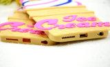 Acessórios do telefone do silicone do cone de gelado para o caso do iPhone 6s 6plus (XSF-0160)