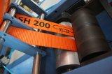 Correas resistentes que cortan y máquina de bobina