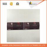 Etiqueta del servicio de impresión de papel autoadhesivo Impreso de vinilo pegatinas