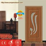 Portes en bois de bonne qualité de PVC de forces de défense principale de bonne conception