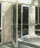 Non-Поучительным двери прикрепленные на петлях открытостью алюминиевые