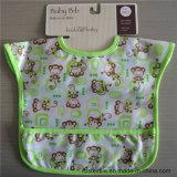 刺繍されたかわいいデザインの100%年の綿の赤ん坊の胸当て