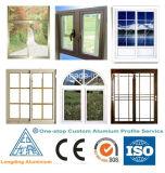 Marco del aluminio de las puertas interiores de Windows