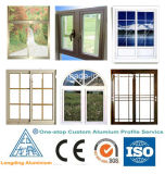 Bâti d'aluminium de portes intérieures de Windows