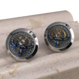 Custom all'ingrosso Metal Movement Cufflinks per Mens Shirts TM-221