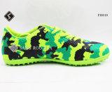 Ботинки футбола футбола ботинок спортов крытые для людей