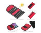 Mochila solar de 6,5W Sunpower para viajante e acampamento