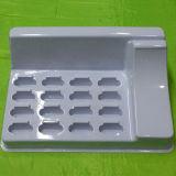 化粧品のための白いプラスチックまめの皿