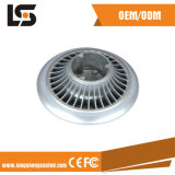 La aleación de aluminio a presión servicio utilizado del OEM de la iluminación de la cubierta de interruptor de la fundición LED