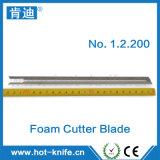 Lâmina de cortador da faca/lâminas quentes para a placa do Styrofoam da estaca