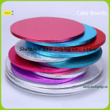 Square Cake Base Tray para Cake Shops, Cake Drums, Black Cake Boards com FDA (B & C-K079)
