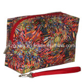 Wasserdichtes PVC Travel Packing Cosmetic Bag mit Wristlets