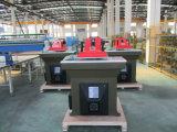 Automatische Schwingen-Arm-Leder-Ausschnitt-Maschine