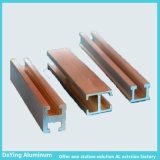 Extrusion en aluminium de profil d'usine d'Anidozing de couleur en aluminium de différence