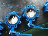 BACCANO Wafer Butterfly Valve di Iron Pn16 del getto con Ce