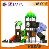 Оборудование спортивной площадки скольжения больших детей напольное пластичное для самого горячего сбывания