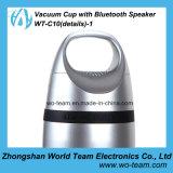 Copo do vácuo do esporte com altofalante portátil de Bluetooth o mini para o uso ao ar livre