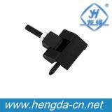 Yh9339 Black Flexible Zinc Alloy Small Hinges para Cabinet