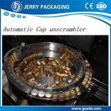 Máquina de enchimento & tampando do líquido de engarrafamento do frasco automático para o tampão de alumínio