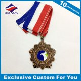 Qualitäts-Firma-Förderung-Medaille mit Farbband