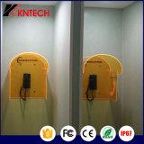 Cabine téléphonique imperméable à l'eau de Kntech avec les cabines téléphoniques personnalisées par prix imbattable