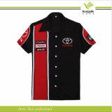 Chemises d'équipage de la mine des hommes personnalisés de la qualité 100%Cotton (KY-F001)