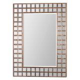 Het eigentijdse Koper plateerde de Frame Spiegel van de Muur voor de Toebehoren van de Decoratie van het Huis