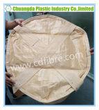 Sacchetto circolare di tonnellata tessuto pp del contenitore di grandi dimensioni del sacchetto 2-Loops FIBC