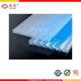 10 años de la garantía del claro del policarbonato del gemelo de hoja de pared (YM-PC-019)