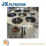 Cárter del filtro de bolso para el tratamiento de aguas