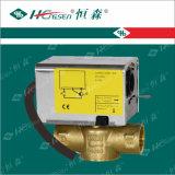 Aufspalten-Typ motorisiertes Ventil Df-01/Messingkugelventil