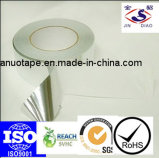 Pressionar a fita acrílica sensível da folha de alumínio