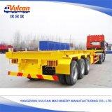中国の普及した造船所の運送者の容器ユーティリティトレーラー