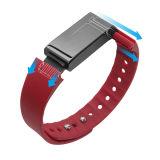 Faixa esperta do bracelete esperto do podómetro do bracelete de Bluetooth da tela de toque