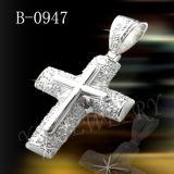 Hotselling 925 은 보석 십자가 펜던트