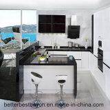 Laca modelo popular terminada cozinhando o gabinete de cozinha
