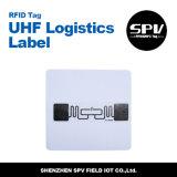 Бумага с покрытием Impinj M4 18000 6c бирки UHF снабжения ярлыка RFID