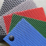 PVC S Mat del PVC Mat Roll Anti-Slip di Mesh di colore in Rolls