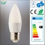 luz de la vela de 3000k C35 E27 E14 3W 4W LED