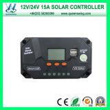 Hoge Frequency 15A 12/24V PWM Charge Controller (qwp-VS1524U)