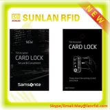 Cartão chave do hotel MIFARE de RFID para o controle de acesso
