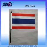 Outdoor Promotional Hand Flags with Plastic Stick