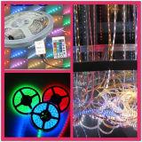 Indicatore luminoso chiaro decorativo del nastro LED di Chiristmas RGB LED
