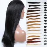 """26 """" perruques intactes de New York de cheveux humains de Remy de Vierge longues"""
