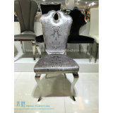 Aço inoxidável do estilo moderno que janta a cadeira para o hotel (HW-YH37C)