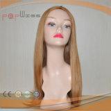 Pleine perruque blonde de femmes de dessus de peau de cheveux humains de lacet