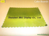 Placas douradas por atacado do bolo da cor de China para a loja da padaria com GV (B&C-K073)